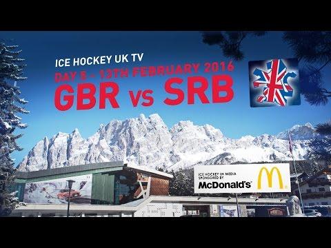 Team GB in Cortina - Day 05 - Great Britain v Serbia