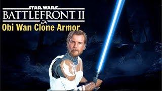 Obi Wan Kenobi Clone Trooper Armor Star Wars Battlefront 2 (Mod)
