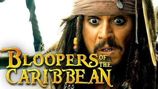 Bloopers Of The Caribbean: Dead Men Tell No Gags