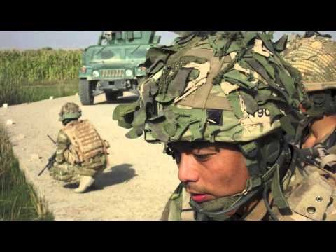 GURKHAS  IN AFGHANISTAN 2012 PATROL BASE 4