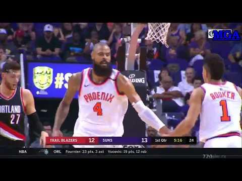 Portland Trail Blazers vs Phoenix Suns - Full Game Highlights - 18/10/2017 - NBA Season 2017/2018