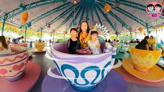 หนูยิ้มหนูแย้ม   เล่นถ้วยหมุน   เที่ยวฮ่องกงดิสนีย์แลนด์ EP5
