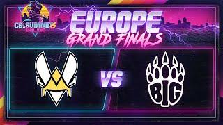 Vitality vs BIG (Mirage) - cs_summit 6 Online: EU GRAND FINALS - Game 1