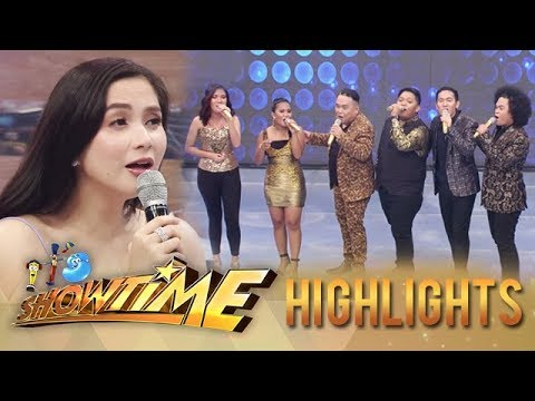 Mariel blends with Tawag Ng Tanghalan 3 grand finalists | It's Showtime