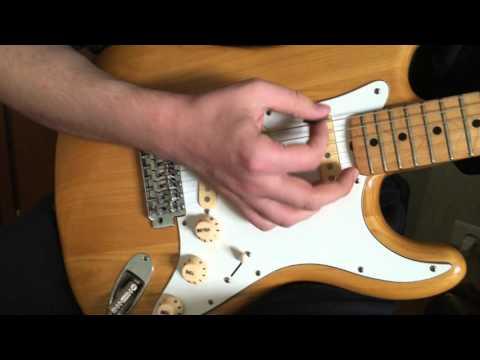 Aria Pro II Stratocaster Demo