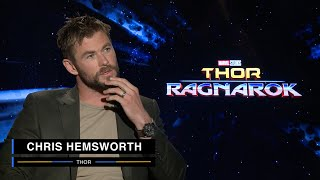 Chris Hemsworth on Marvel Studios