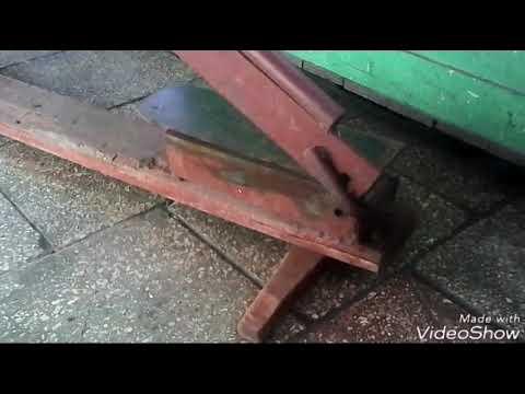 Самодельные ножницы для листового металла  (30).
