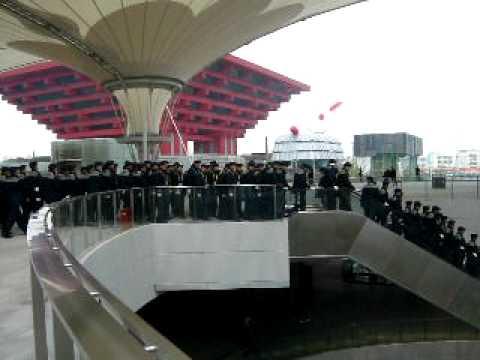 Shanghai Expo Guards