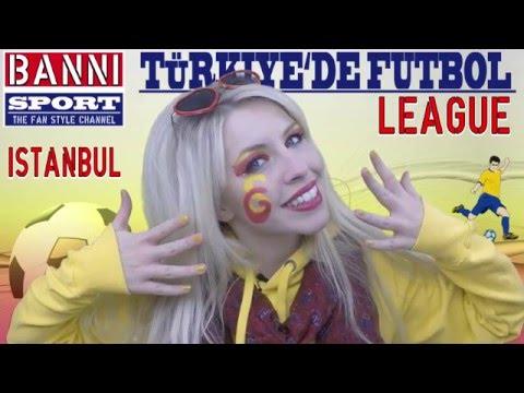 "ISTANBUL - Sport Fan Tutorial ""Banni Sport"" Turkish Soccer League"
