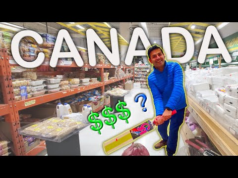 CANADA: Indian Grocery Store. ITNA MEHENGA ?