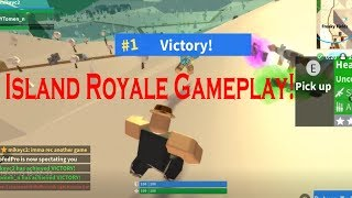 Roblox: Island Royale - Two Games with my Friend (VICTORY!)