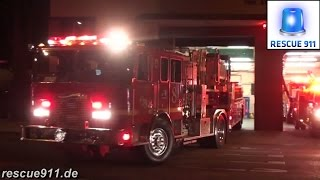 [LACoFD] Light Force 8 + Squad 8 + Engine 8 Los Angeles County Fire Department