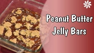 Gluten Dairy Free Peanut Butter Jelly Bars