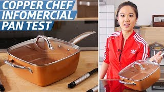 Does the Copper Chef Pan Live Up to Its Bold Infomercial Claims? - The Kitchen Gadget Test Show