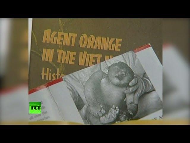 Американское химическое оружие еще долго будут помнить во Вьетнаме и Ираке (18+)