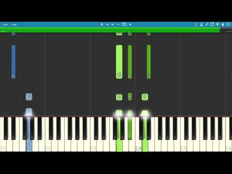 Macklemore feat. Skylar Grey - Glorious - Piano Tutorial
