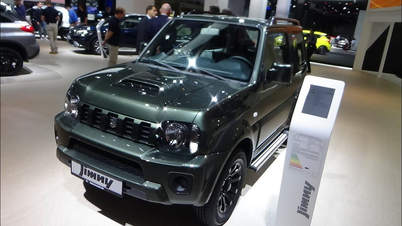 2018 suzuki jimny 1 3 exterior and interior iaa. Black Bedroom Furniture Sets. Home Design Ideas