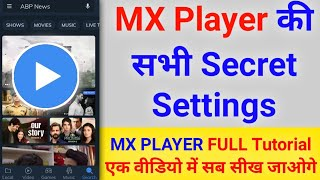 MX Player Full Settings in One Video | MX player FULL TUTORIAL - Sachin Saxena screenshot 2