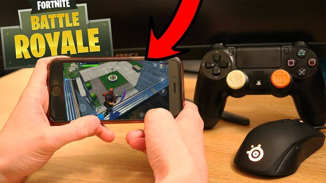 How To Use A Controller On Fortnite Mobile Youtube