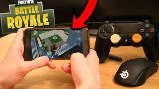 How To Use A Controller On Fortnite Mobile