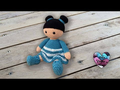Poupées Valentine  Amigurumi  by Lidia Crochet Tricot