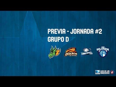 Previa Jornada #2 - Grupo D - DIRECTV Liga de las Americas 2018