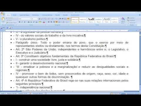 Vídeo Artigo trabalho social