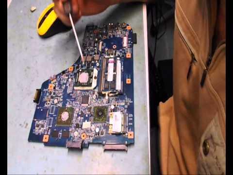 Ремонт и разборка ноутбука