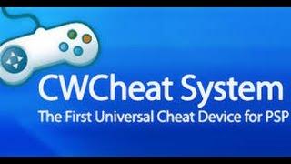 Como instalar o CWcheat(plugin de hacks) no seu PSP!