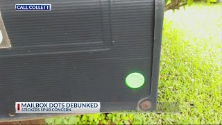 Call Collett: Mysterious mailbox stickers spur concern