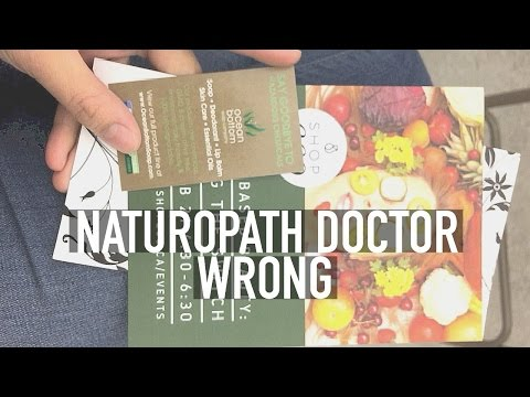 NATUROPATH DOCTOR WRONG? | seriously rooted vegan