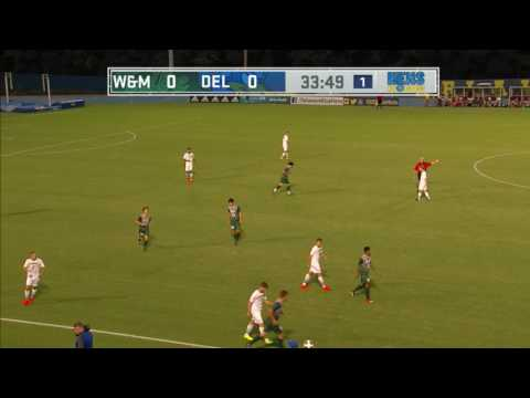 Blue Hens Playback - Men's Soccer vs. William & Mary (9/17/2016)