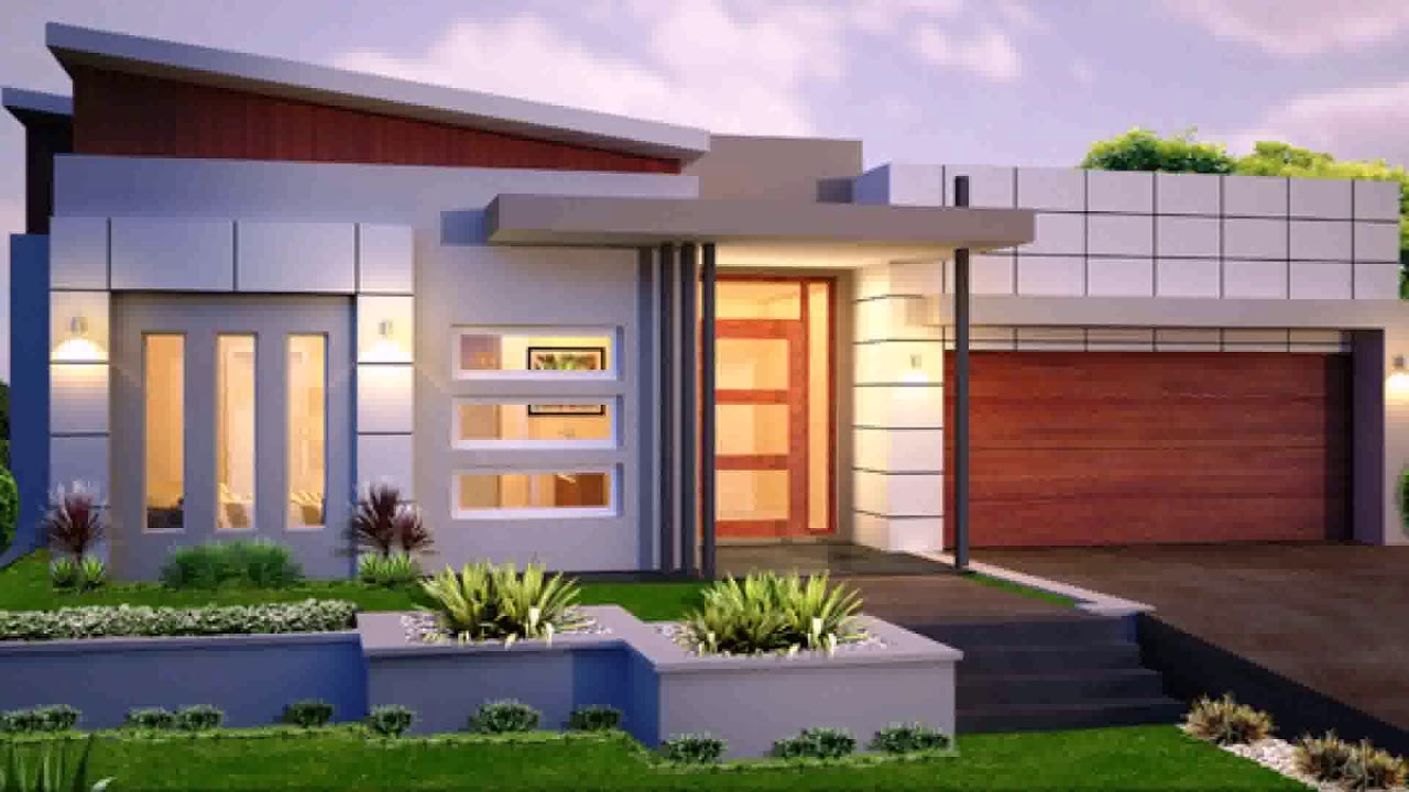 Modern Contemporary House Design Australia Youtube