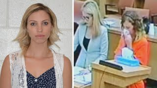 Teacher Cries as She Pleads Guilty to Sex With 13-Year-Old