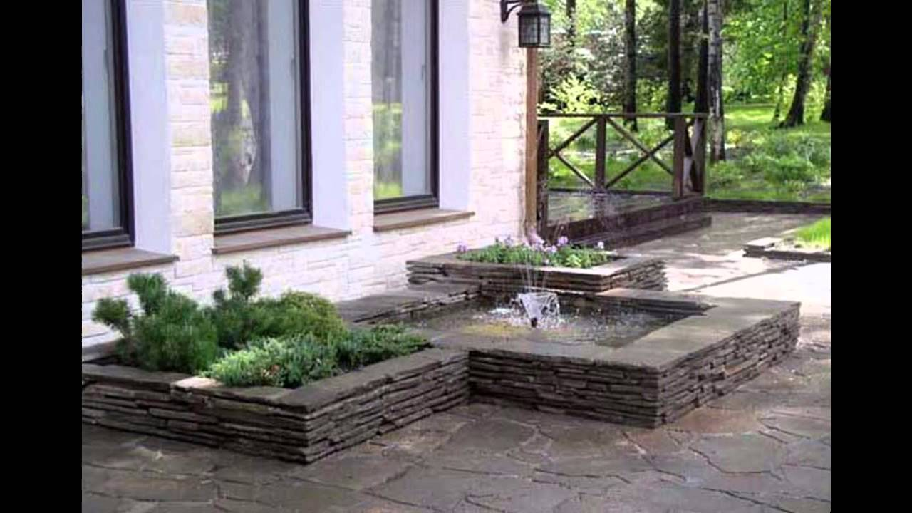 Small rectangular garden design - YouTube on Landscaping Ideas For Rectangular Backyard  id=28595