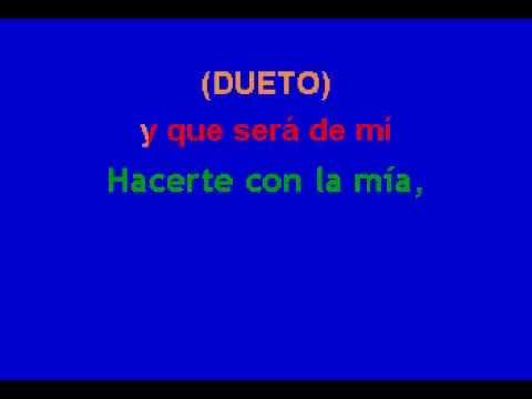 Karaoke Franco D Y Alejandra G. Tan Solo Tu + Cdg