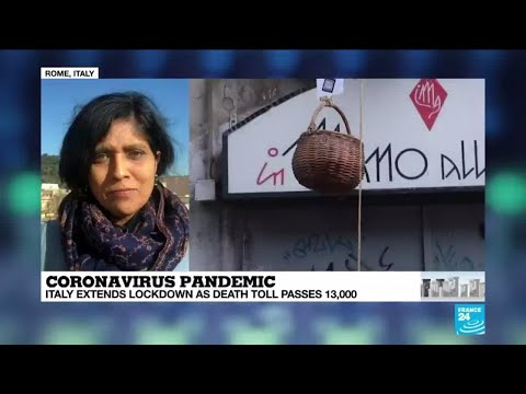 Coronavirus - Covid-19: Italy extends lockdown as death toll passes 13,000
