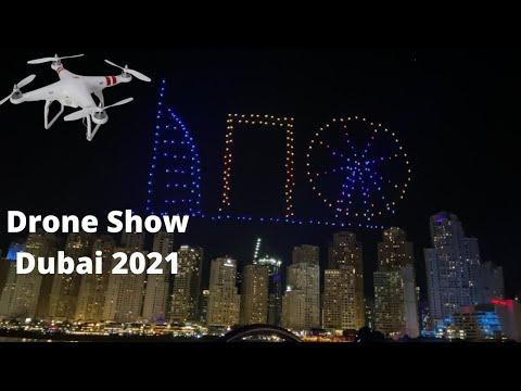 Drone Light Show Dubai 2021 | Vlog 1 Dubai | Visit Dubai 2020-2021 |#UAE | دبي | Rahul Goyal