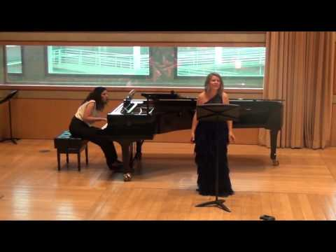 Marta Bonet, Soprano. Imma Trepat, piano
