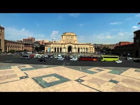 Test Video DJI inspire 1/ Armenia Republic square