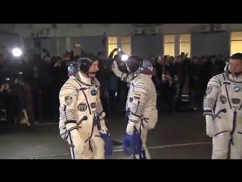 A Launch Day Recap for the New Space Station Crewmembers