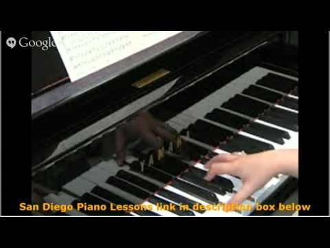 San Diego Piano Lessons Be trained To Master The Piano Now