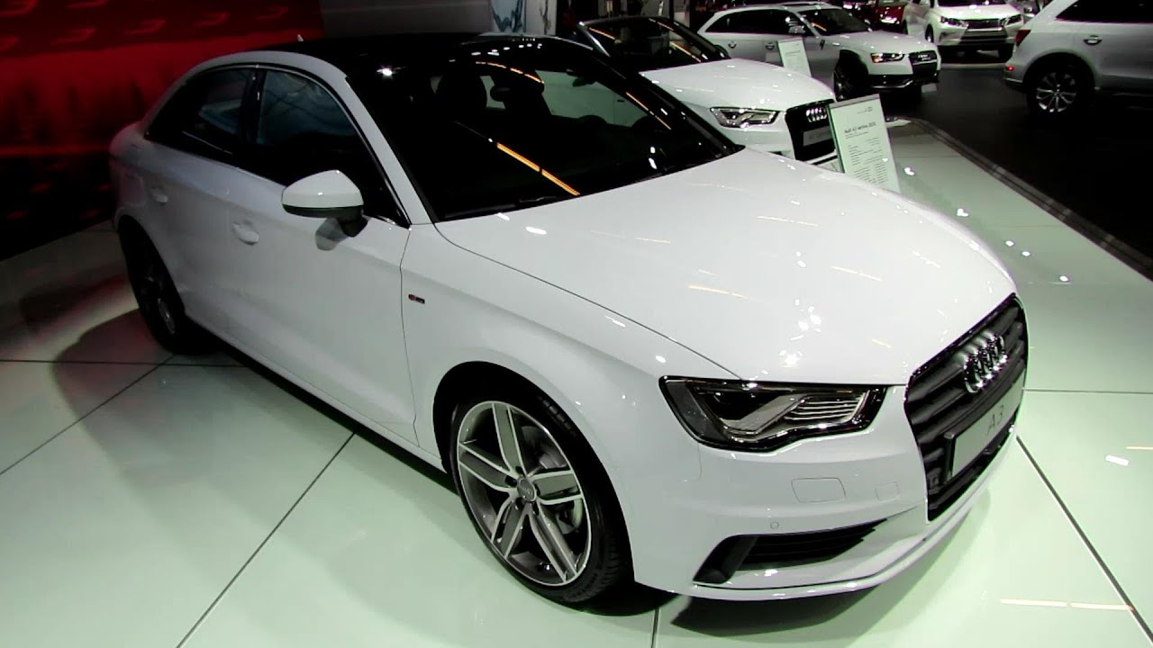 2015 audi a3 tfsi s line exterior and interior walkaround 2014 montreal auto show youtube. Black Bedroom Furniture Sets. Home Design Ideas