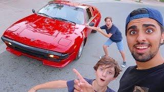 My Neighbours Lamborghini !!!