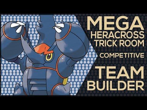 Mega Heracross Trick Room Competitive Team Builder (Pokemon Showdown ORAS OU Facecam)