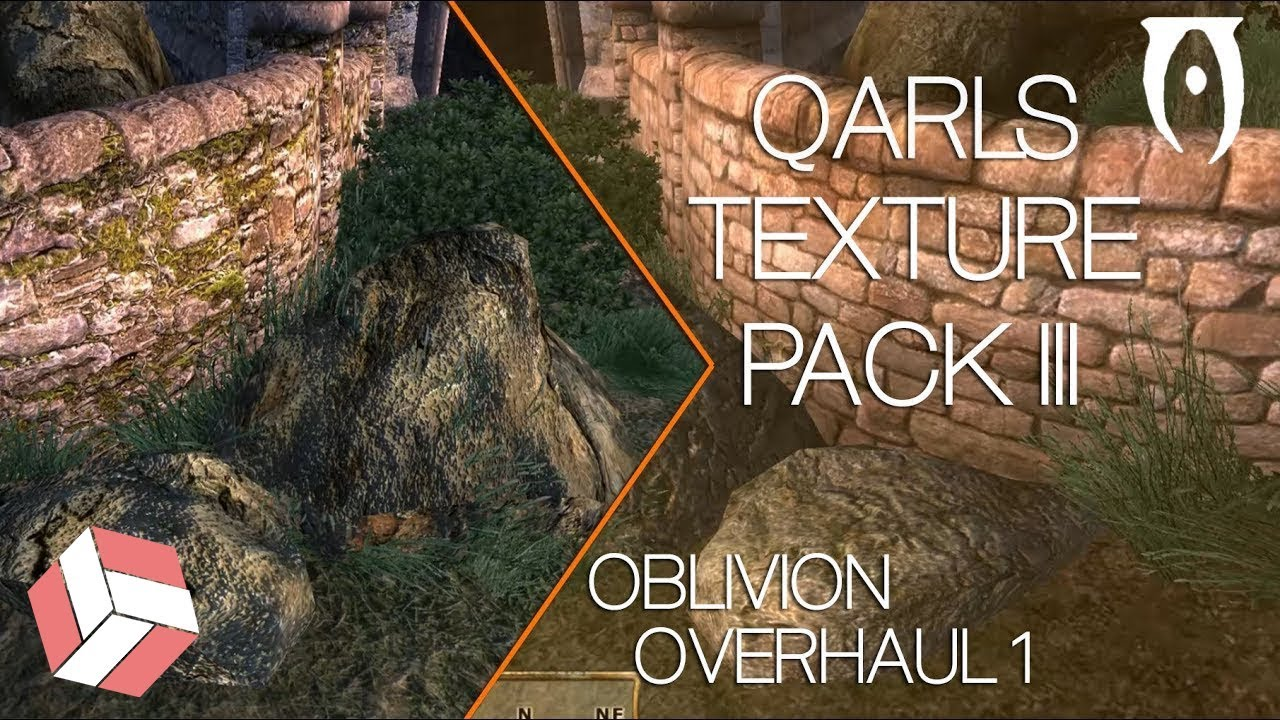 Oblivion - 2018 Graphic Overhaul & Remastered Textures Tutorial
