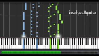 (How to Play) Michael Nyman - The Heart Asks Pleasure First (The Piano Theme) on Piano (100%)