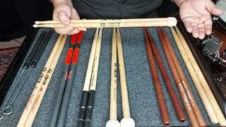 타악기 전공자들을 위한 스틱 종류 및 특징 설명