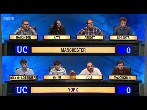 University Challenge S45E04 - University of Manchester vs University of York