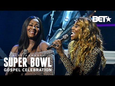 Yolanda Adams & Le'Andria Johnson Perform 'The Battle Is The Lord's' | Super Bowl Gospel 2020